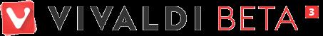 vivaldi beta 3 logo