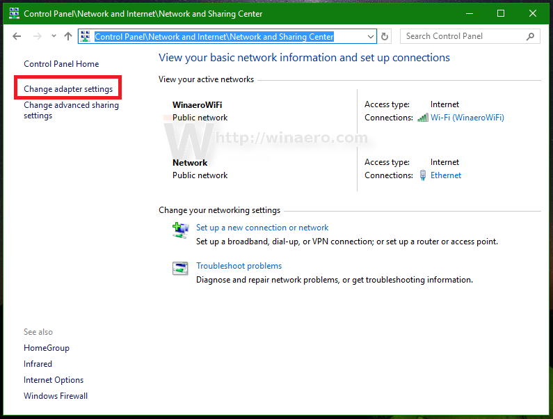 Remove VPN Connection in Windows 10