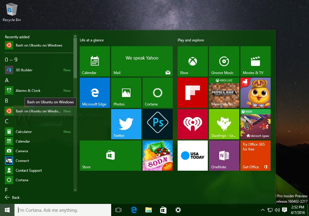 Fix no network in Bash console in Windows 10
