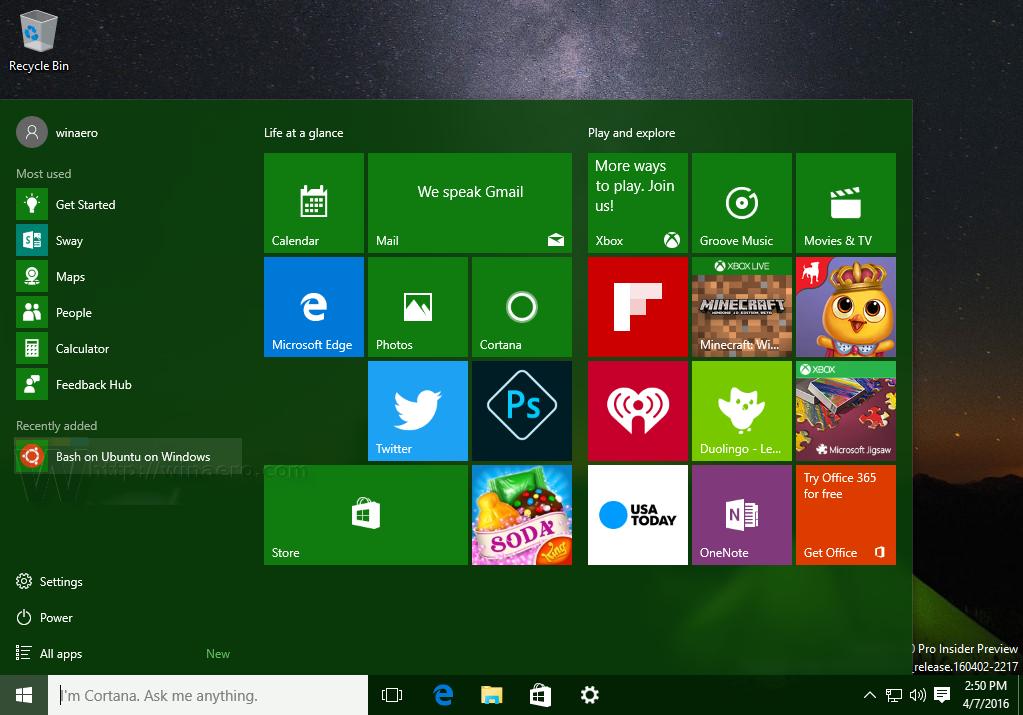 Run Ubuntu Unity on Windows 10