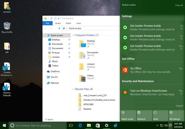 Windows 10 color on taskbar taskbar white title bar2
