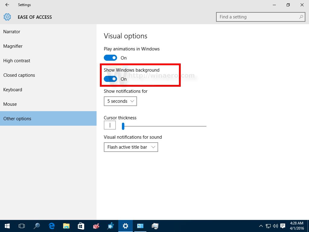 Windows 10 Desktop Background On
