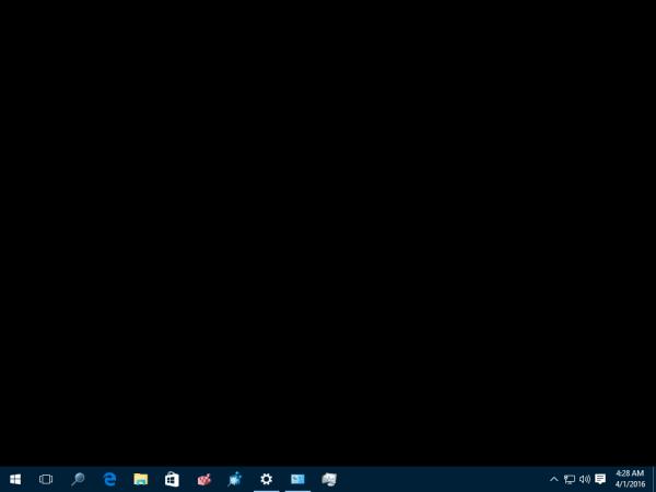 Desktop Background Keeps Going Black