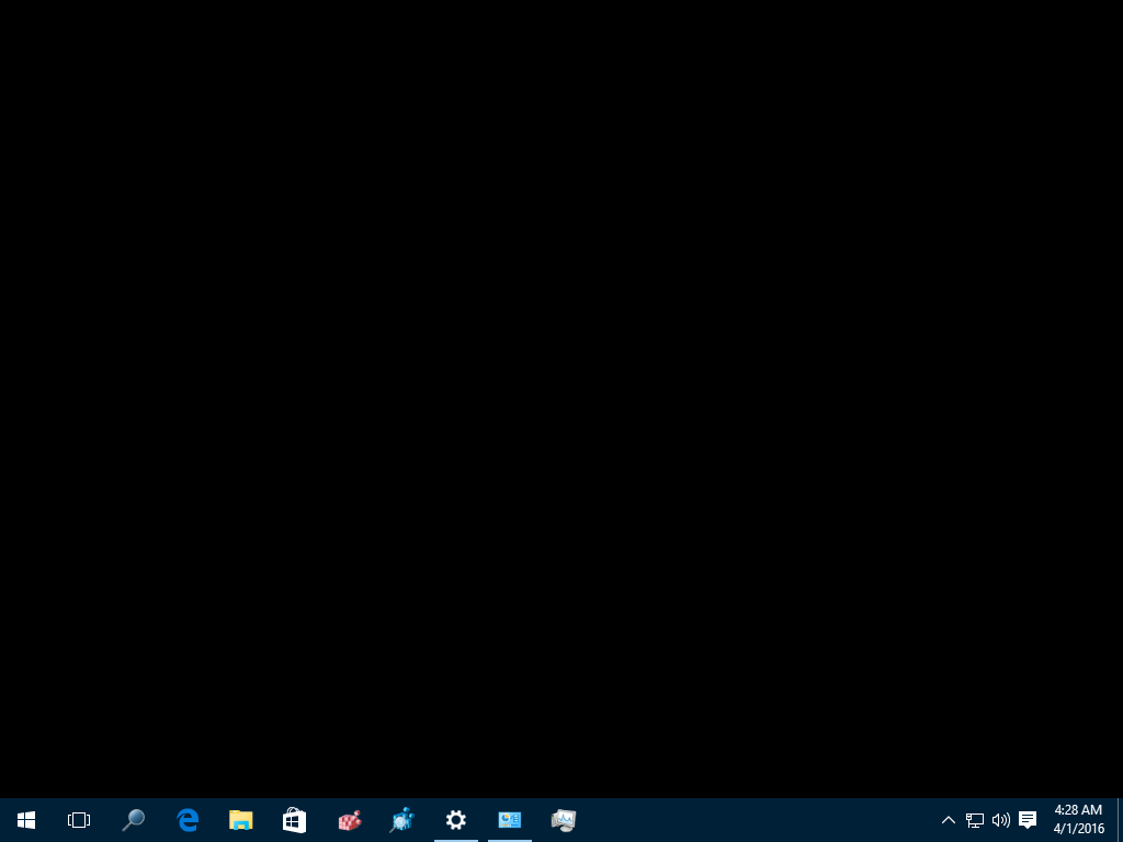 Fix Desktop Turns Black In Windows 10