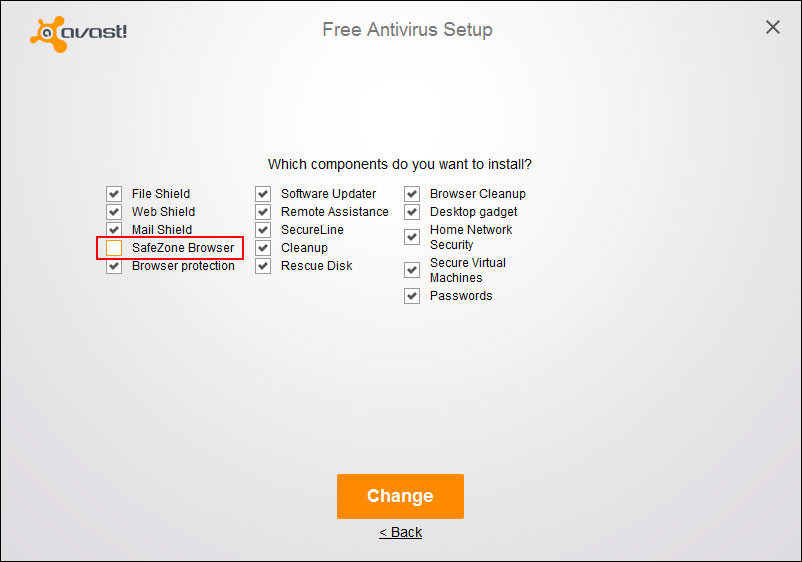 avast secure browser automatically installed