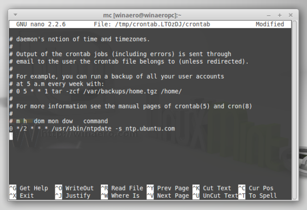 Linux Mint sync date time ntp MATE XFCE