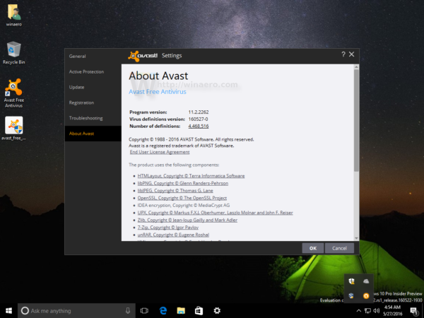 how to turn on securedns in avast