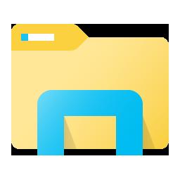 The evolution of the File Explorer icon in Windows 10