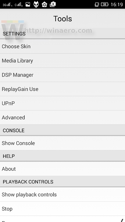 Foobar2000 is out for Android