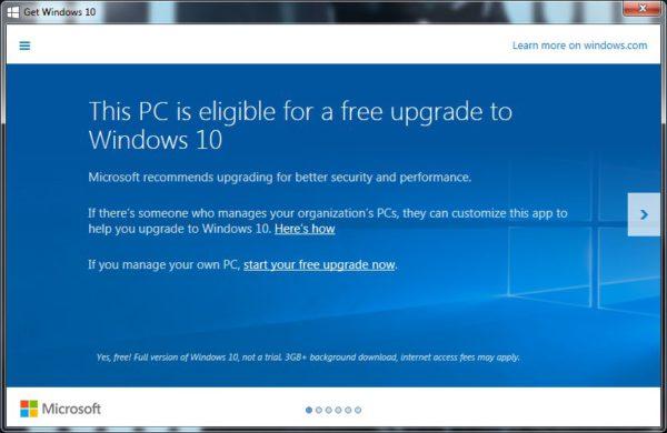 free upgrade image