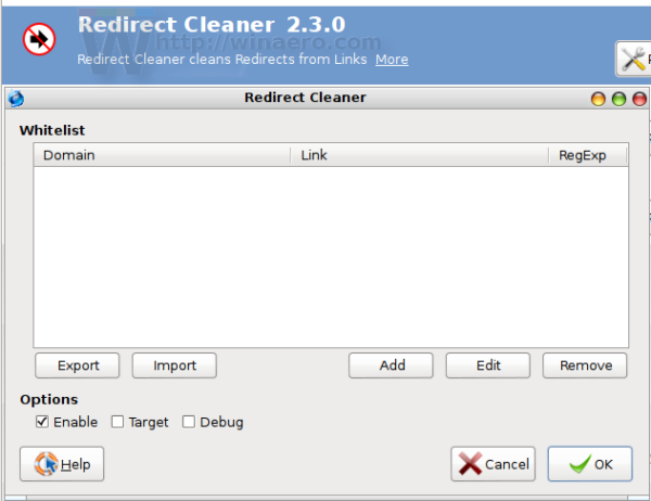 redirect-cleaner