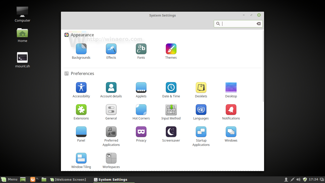 Mint 18 icon theme