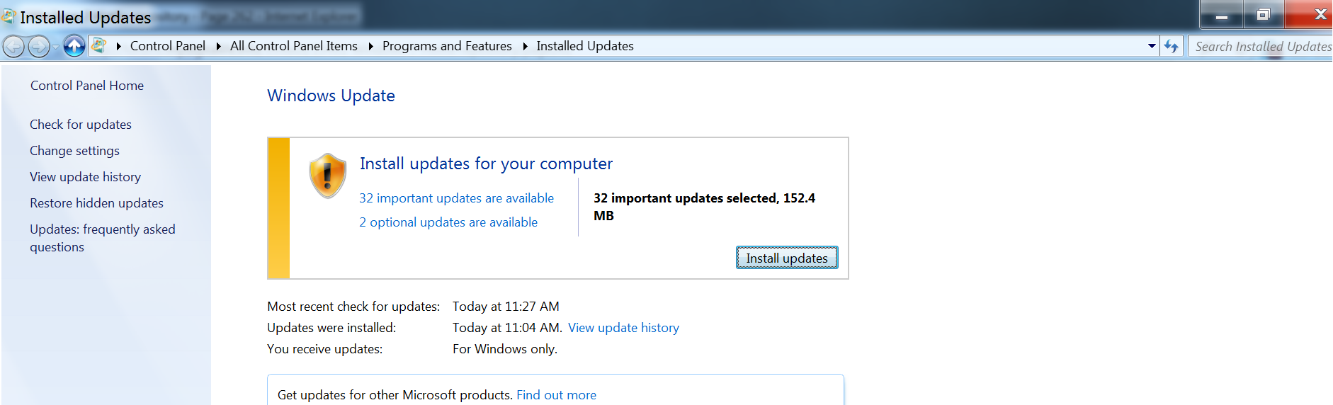 How to make an updated ISO with Windows 7 SP2 Convenience