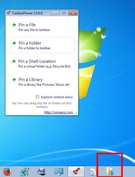 Pin a Folder 2
