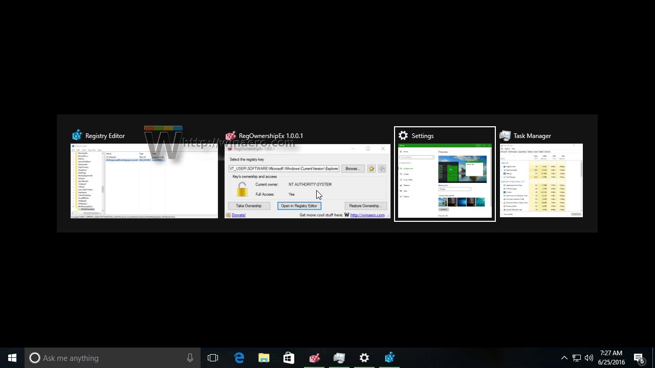 how to change alt tab settings windows 10