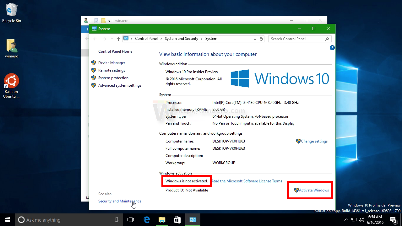 Change windows 10 desktop wallpaper without activation windows 10 not activated 2 ccuart Images