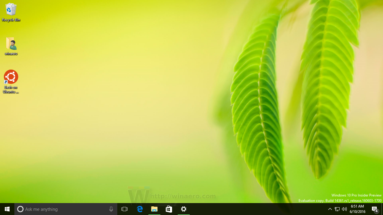 Change Windows 10 desktop wallpaper without activation