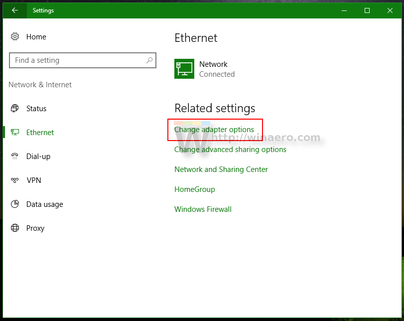 See The Ethernet Or Wifi Adapter Speed In Windows 10
