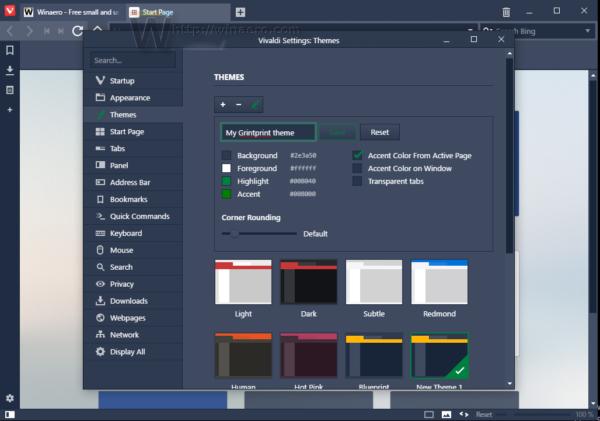 vivaldi 1.3 custom theme 1