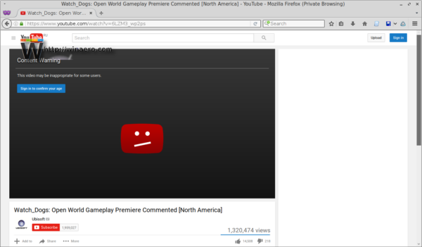 youtube restricted video
