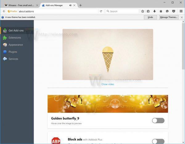 Firefox 48 adddons instruction video