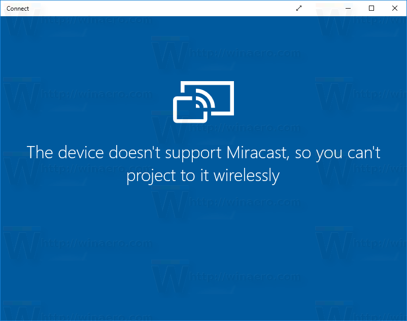 How to uninstall and remove Connect in Windows 10