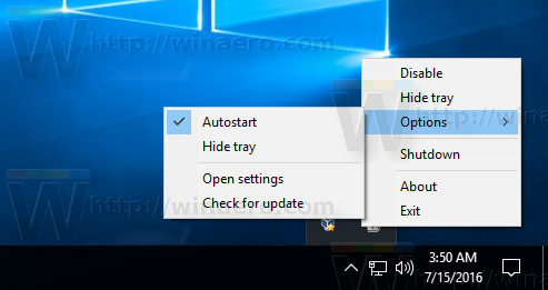 Windows 10 ShutdownGuard settings
