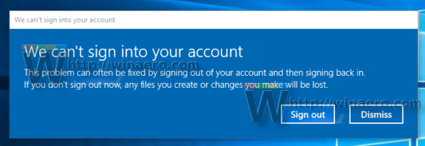 Windows 10 can't sign in