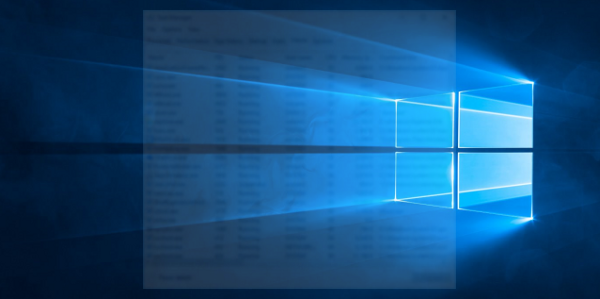 Windows 10 run hidden banner
