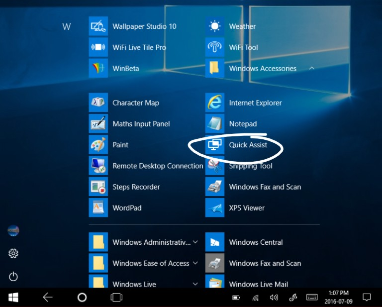Quick Assist is a new Windows 10 app to replace Remote Assistance