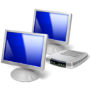 remote desktop pc network icon