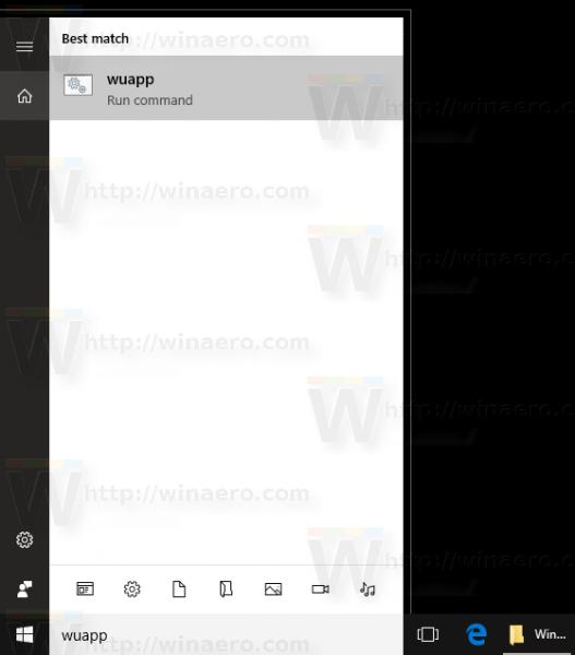 wuapp start menu