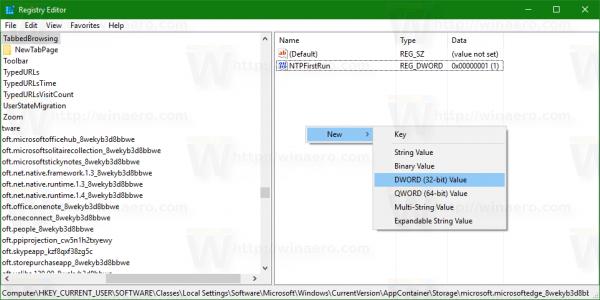 Edge new 32 bit dword