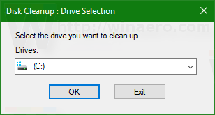 Windows 10 run select drive c