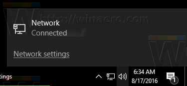 network name in network flyout