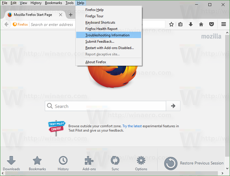 Disable add-on signature enforcement in Firefox 49 and above