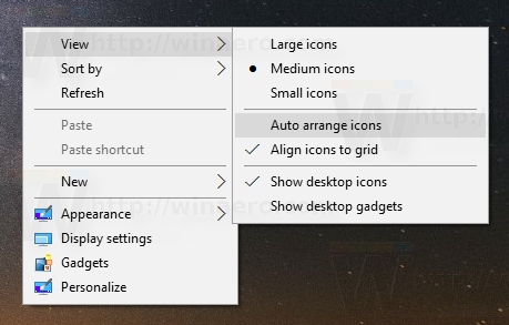 how to auto arrange on windows 10 start menu