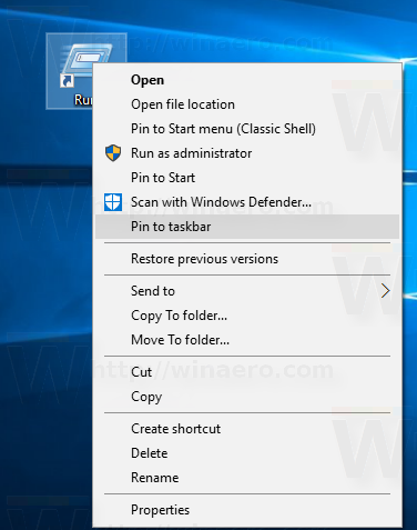 windows-10-run-pin-to-taskbar-1