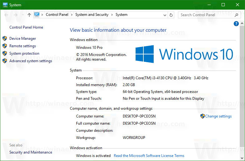 Find Which Windows 10 Edition You Have Installed