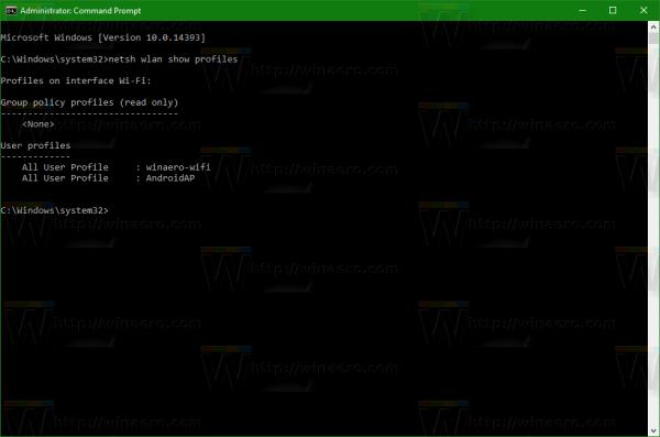 wifi-profiles