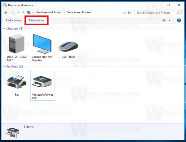 windows 10 xps document writer