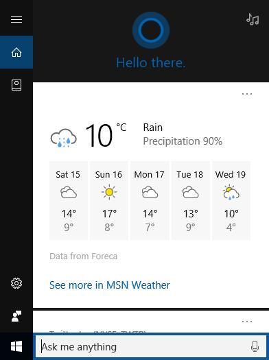 windows 10 how to change cortana into search bar