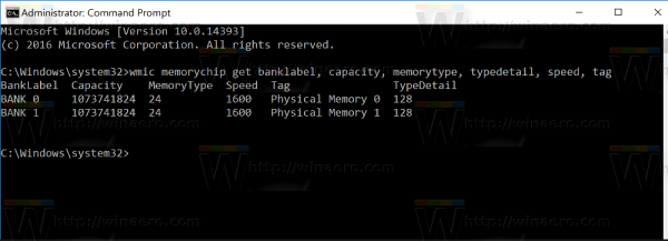 ddr-memory-type-windows-10