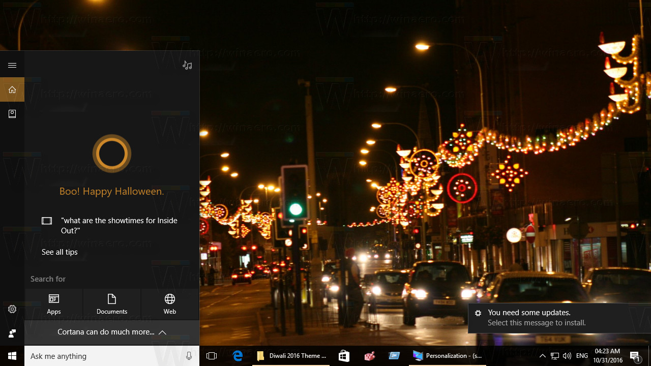 gorgeous wallpapers to bring the spirit of diwali celebrations to your desktop this theme is compatible with windows 7 windows 8 and windows 10 - Halloween Windows 7 Theme
