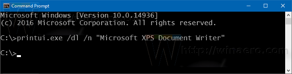 remove-microsoft-xps-document-writer-cmd