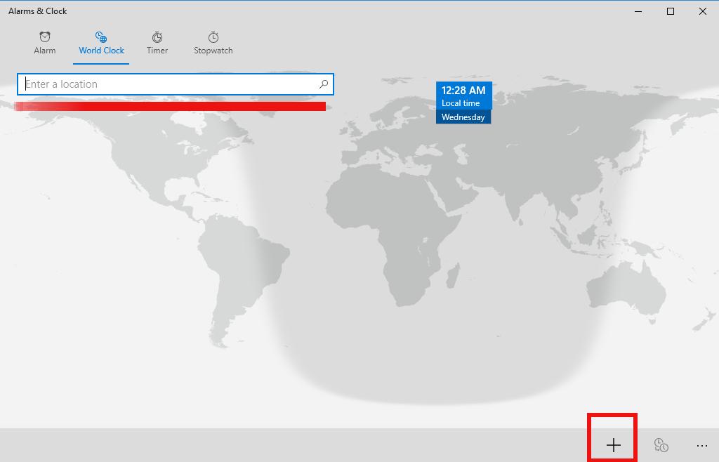 Pin world clock tile to start menu in windows 10 gumiabroncs Gallery