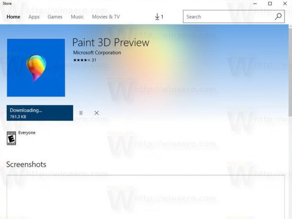 How to download and install new paint 3d for windows 10 Paint software free download