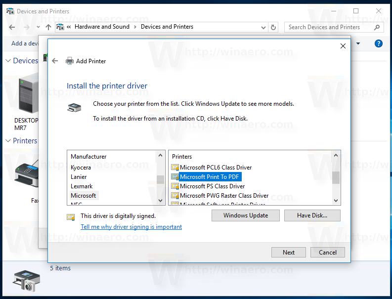 how to connect to a printer on windows 10