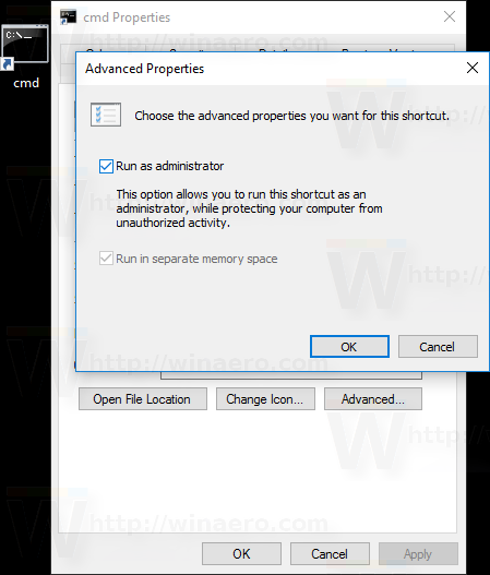 How to always run command prompt as Administrator in Windows 10