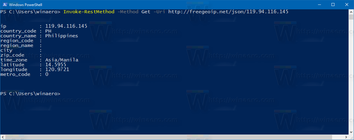 how to get your ip address windows 10